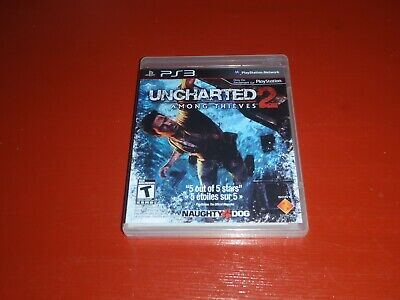 Uncharted 2: Among Thieves (Sony PlayStation 3, 2009 Ps3) -Complete