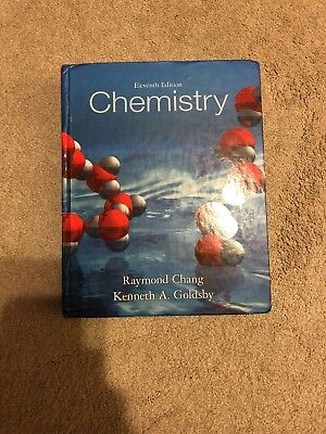 Chemistry by raymond chang 10th edition hardcover 3500 picclick chemistry by kenneth goldsby and raymond chang 2012 hardcover 11th edition fandeluxe Images