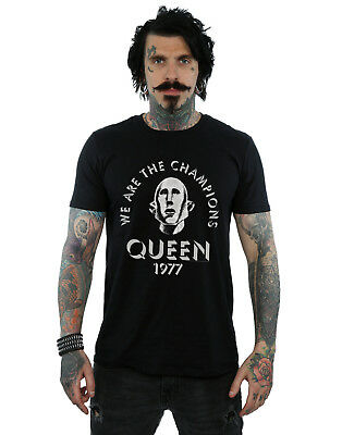 Queen Hombre We Are The Champions Camiseta