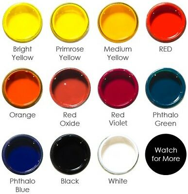 Pigment Paste, Solid Colouring for Epoxy Resin, Resin Art, Polyurethane, Silicon
