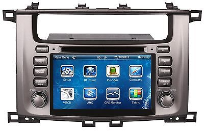 "7"" Indash Car Radio DVD Player GPS Navigation For Toyota Land Cruiser 100 LC100"