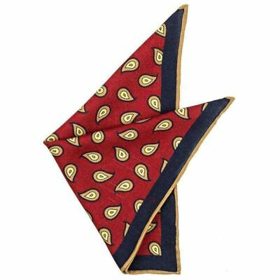 Percy Wool Pocket Square