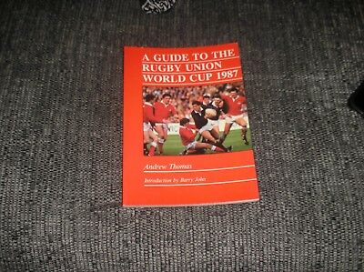 1987 guide to the rugby world cup