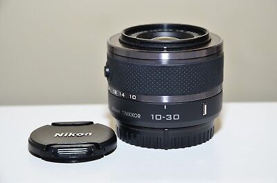 Nikon 1 Nikkor  10-30mm f/3.5-5.6 VR Lens (Black) for Nikon 1 Cameras_ Excellent