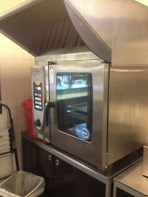 Rational SCC 61 Electric Combi Oven with Ultravent Ventless Condensation Hood