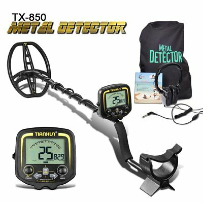 TX-850 Professional Metal Detector 2.5m Underground Depth Scanner Finder SY