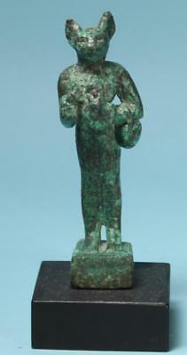 Egyptian Bronze Bastet  - Ancient Art & Antiquities