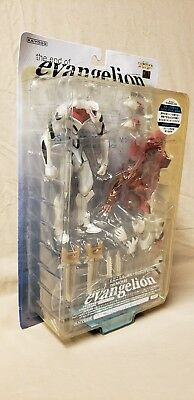End of Evangelion Dual Figure Mass Production Model with Eva-02 (Kaiyodo, NEW)