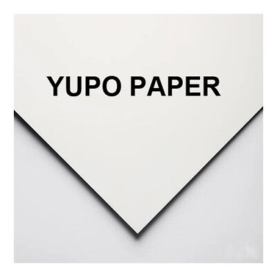 10 sheets of A4 yupo paper 80gsm, 110gsm or 250 gsm