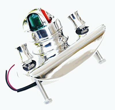 Stainless Boston Whaler Navigation Light -Bi-Color with LED Blub