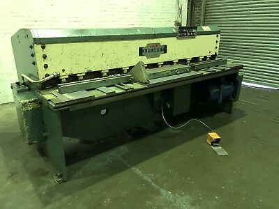 J Perrot (France) Hydraulic Sheet Metal Guillotine