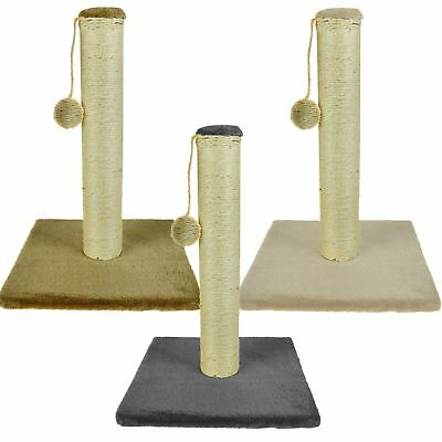 Pet Kitten Cat Free Stand Sisal Scratching Post Activity Board Carpet Scratcher