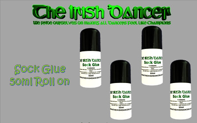 Irish Dancing Sock Glue - Dance Body Adhesive - Leotard Ballet Costume
