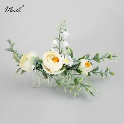 Flower Girl Bridesmaid Headband Comb Photography Wedding Bridal Hair Accessories