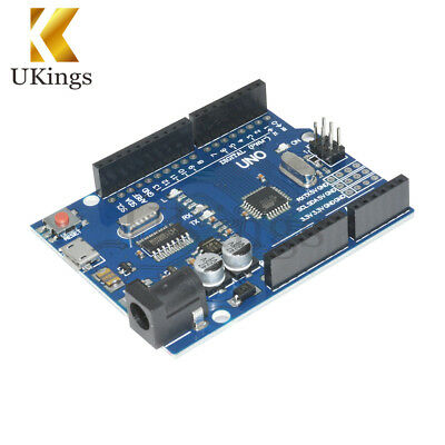 Latest Version UNO R3 ATMEGA328P-16AU CH340G Micro USB K