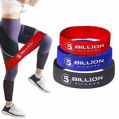 Resistance Hip Bands Cotton 3 Set Hip Circle Loop Bands For Booty Training
