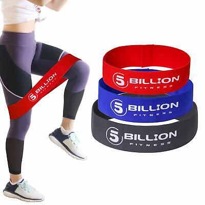 Resistance Hip Bands Set - 3 Hip Circle Loop Bands For Booty,Body Weighted Guide