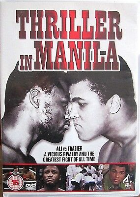 Thriller In Manila, DVD, Ali vs Frazier, Through the eyes of Frazier, pre owned