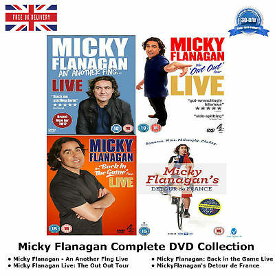Micky Flanagan - Complete Collection Micky Flanagan An Another Fing Live New DVD
