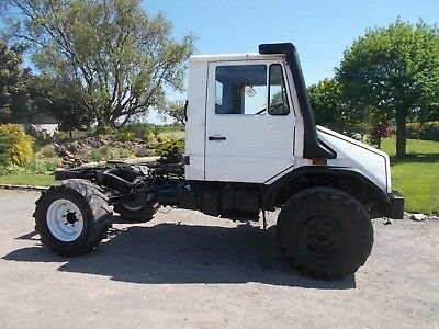 Mercedes Unimog U100 Chassis Cab Project Tractor