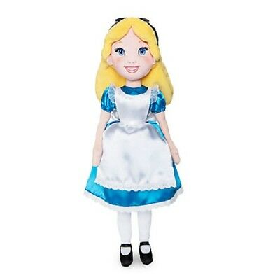 Official Disney Store Alice Soft Plush Toy Doll 45cm Tall