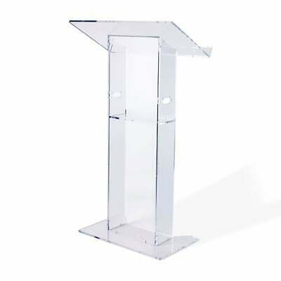 Clear Acrylic Lectern - 685mm