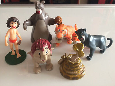 Disney the jungle book figures x 6
