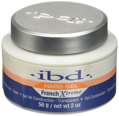 IBD Builder Hard Gel LED/UV French Xtreme Clear gel 2oz