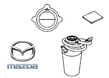 Genuine Mazda 3 2013-2016 Puncture Repair Sealant - BHR137C1XA