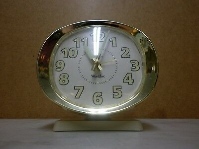 WESTCLOX BIG BEN REPEATER WIND-UP ALARM CLOCK Made in USA Style 9 1990s