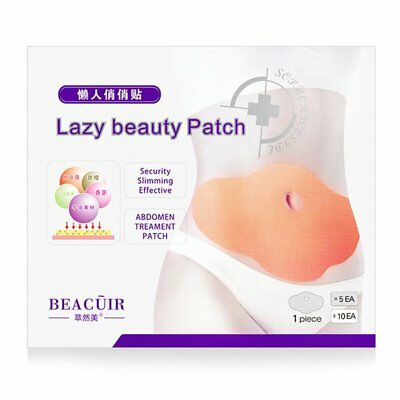 5PCS/SET Healthy Body Slimming Stick Belly Abdomen Weight Loss Slim Patch EF