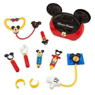 Official Disney Store Mickey Mouse Doctor Toy Playset & Accessories 3+