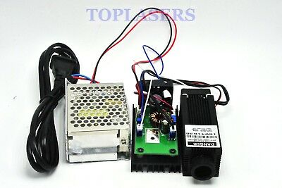 Focusable 800mw 808nm Infrared IR Dot Laser Module w 1W Diode & 12V Power Supply