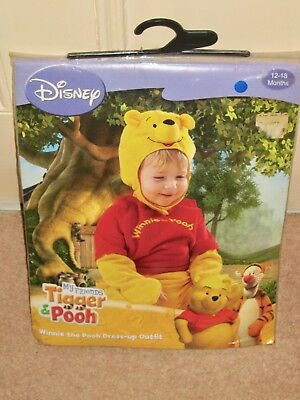 Disney  My Friends Tiger & Pooh: Winnie the Pooh Dress-up Outfit 12-18 months