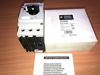 GE GPS2BHAS Starter, Motor, Manual, Rotary, 28-40A, New And Boxed (AB39)