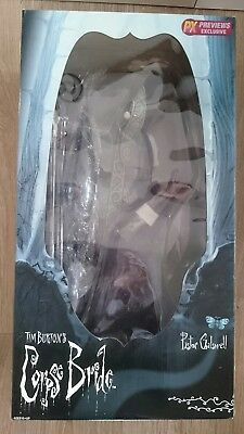 TimBurton's Corpse Bride Pastor Galswell 23inchs collector Doll-Jun Planning
