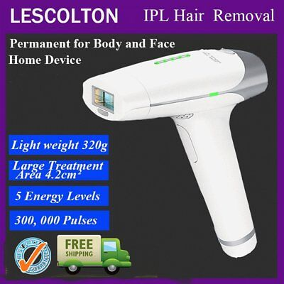 Laser IPL Permanent Hair Removal Machine Face Body Whiten Skin Body & Facial EF
