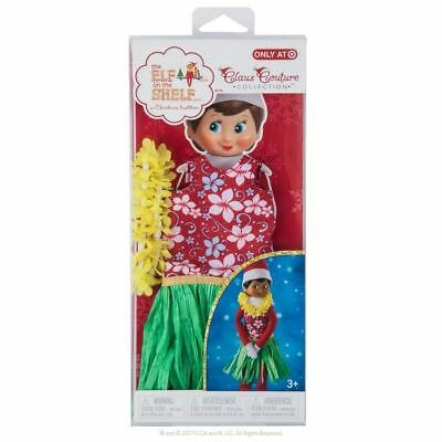 Elf on the Shelf Claus Couture Beach Hula Wear Girl Clothing Target Exclusive