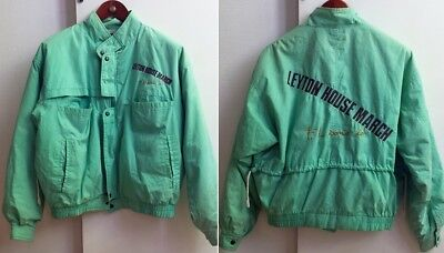Original Jacket Parka Leyton House March circa 1989 F1