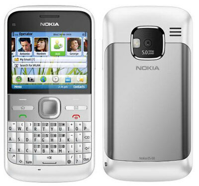 Simple Nokia E5 Cheap Mobile Smartphone-Unlocked With House Chargar And Warranty