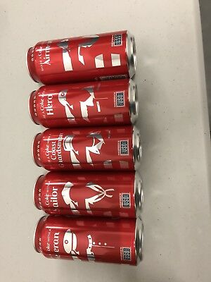 Share a coke Limited Edition USO hero's collection Full 16oz Coca Cola Can