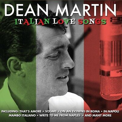 DEAN MARTIN - ITALIAN LOVE SONGS (Inc That's Amore) 2CD