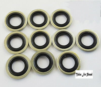 Self Centering Hydraulic Oil Seal Washer Dowty Metric M14