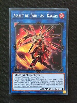 Yu-Gi-Oh  Assaut de l'Air - As - Kagari (LINK-1) : DASA-FR027 -VF/Super Rare-
