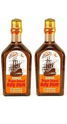 2 X Clubman Pinaud  After Shave Lotion 6 fl oz. 177ml / SAME DAY POST-Aus Store