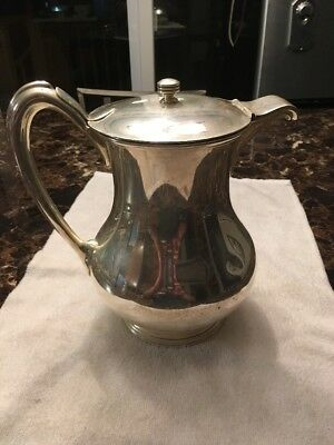 """R. Wallace & Sons 9"""" Silver Plated 4-1/2 pint Water Pitcher # 05050- 57 oz Wt"""