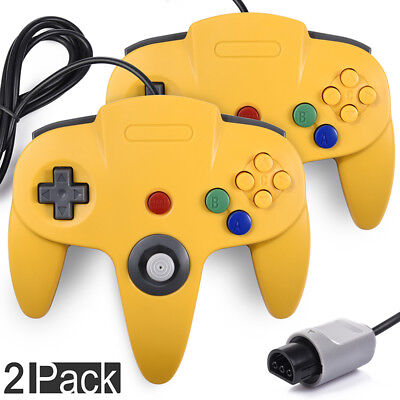 N64 Controller Joystick Gamepad Long Wired for Retro 64 Home Video Game Console
