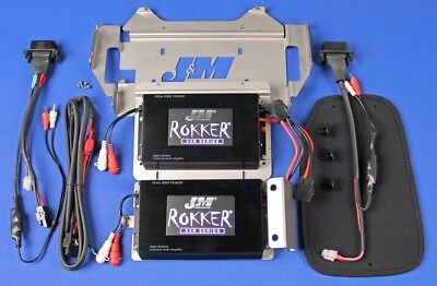 J&M Audio XXRP 660 Watt 4 Channel Amp Kit 2014 and Up Harley Street Glide CVO