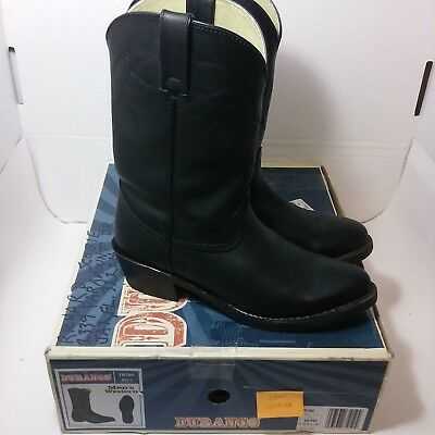 "Durango 11"" Western Men's 10.5 D Black Free Shipping"