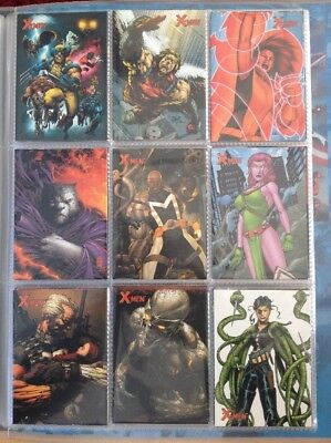 X-Men 2009 - 71 Trading Card Base Set - Marvel Comics
